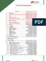 Indice Proyecto Informatico - III