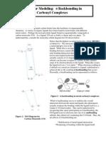 317 Spartan Molecular Modeling Pi Backbonding (Spring 2013)(2)