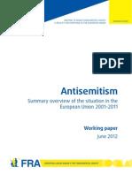 2215 FRA 2012 Antisemitism Update 2011 En