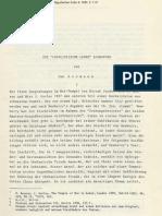 Articule - Die Loyalistische Lehre Echnatons - Assmann Jan
