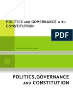Politics and Governance With Constitution- Rpc