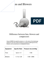 5. Fans and Blowers