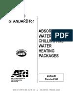 ANSI ARI560-2000