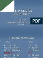 Interpretacion de Gasometrias