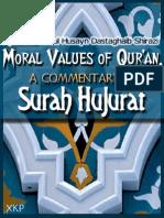 Moral Values of Quran, A Commentary on Surah  -  Ayatullah Dastghaib Shirazi - XKP Hujurat