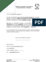 Carta - Comprimiso Empresa
