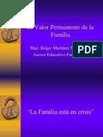 El Valor Permanente de La Familia