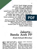 Jakarta - Banda Aceh PP