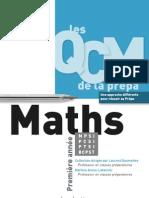 les QCM de la prépa - MATHS MPSI-PCSI-PTSI-BCPST(www.livre-technique.com)