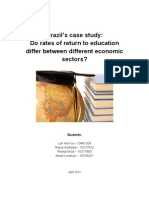 Brazil's case study