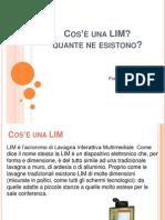 Informazioni Sulla LIM_Zambotti