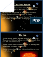 The Solar System Mcq Pract doc   Planets   Solar System