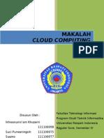Makalah Cloud Computing - Sudah Diedit