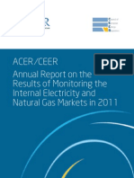 ACER Market Monitoring Report 2012