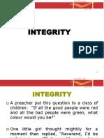 11.7 Integrity