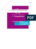 6 Note de Cadrage Du CGP Sur Le Tableau de Bord de Pilotage