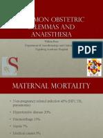 Obstetrics Common Dilemmas-WFBuys