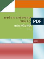 [Vnmath.com] 40 de Thi Thu Mon Hoa Ltdh 2013
