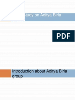 Case Study on Aditya Birla Group 1234679455868499 2