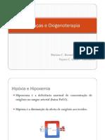 Doencas e Oxigenoterapia