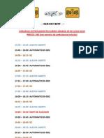 Horarios Libres 29.6.13. Ferias y Fiestas