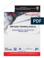 Difuzia Tehnologica Vol II RB