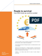 Rapport Emu Roads to Survival 5 Juni 2012