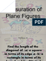 Mensuration of Plane Figures