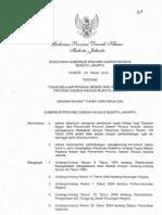 Tugas Belajar PNS PemProv DKI Jakarta - Pergub Prov DKI Jakarta No.23 Tahun 2012