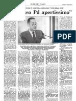 Pittella, congresso apertissimo