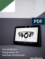 Social Media Integration of German Orchestras Enchoris