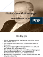 07 Filsafat Komunikasi Heidegger