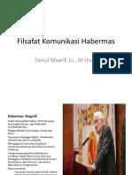 08 Filsafat Komunikasi Habermas