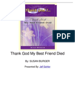 Thank God My Best Friend Died by Susan Burger
