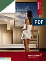 Catalogue Radson Radiateur Chauffage Central