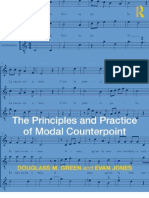 The Principles and Practices of Modal Counterpoint