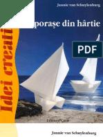 Carti Idei Creative Nr 44 Vaporase Din Hartie Ed Casa