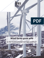 More on the costs of wind energy