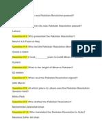 Question Pak Affair