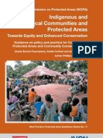 Indigenous and local communities protected areas