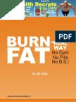 Burn Fat the Real Way