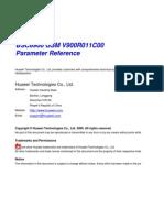 V900R011C00SPC700 Parameter Reference Xls