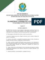 RESUMO-Const. federal. de 88 e Const. do est. do Ceará de 89 - MEIO AMBIENTE