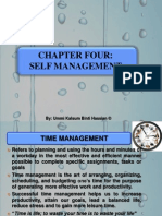Chapter 4-Self Management