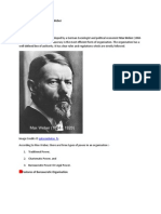 Bureaucratic Theory by Max Weber.docx