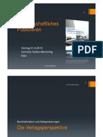 CHM Publizieren 2013 06 Slides