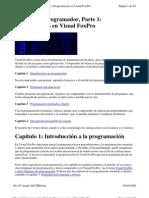 Visual Foxpro Manual Del Program Ad Or Cap 1 Al 4