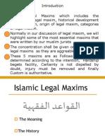 Islamic Legal Maxims