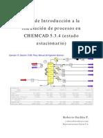 manual chemcad español