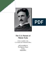 eBook - Free Energy - Complete US Patents of Nikola Tesla - Electricity Alternative